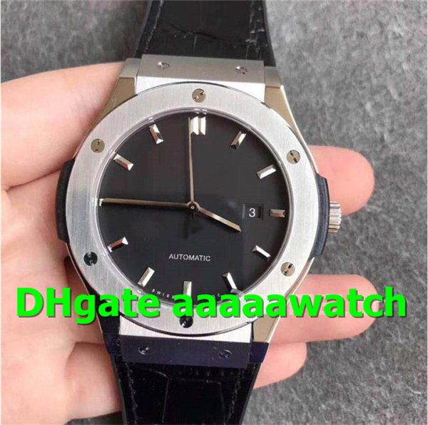 SR Luxury Watch 511.NX.1171.LR Watch 45mm Titanium Case Gummy Strap A2892 Automatic Movement Sapphire Crystal Folding Buckle Men Watch