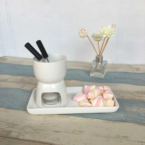 best selling Chocolate Set, Hightea Serving Pot, Mini Cheese Fondue Q190604