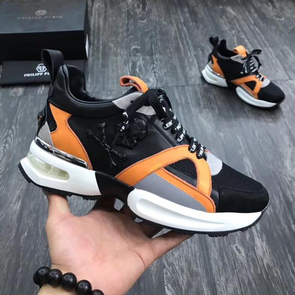 NOUVEAUX HOMMES chaussures de sport pour hommes en cuir de haute qualité chaussures de sport pour hommes chaussures de course en PP - 113