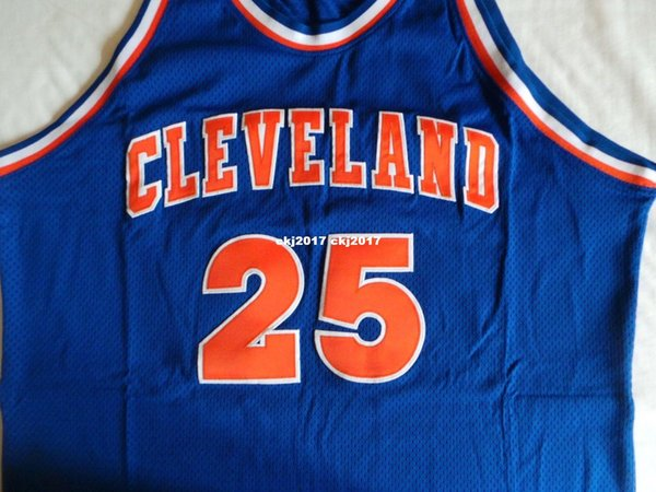 a411d7c33cf Mitchell Ness MN Sewn   25 Mark Price Top jersey NWT NEW Mens Blue Vest Top  Size XS-6XL Camisetas de baloncesto cosidas Ncaa
