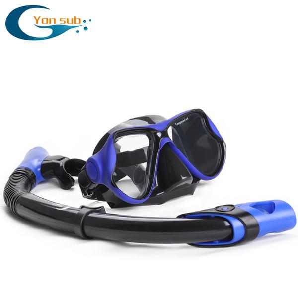 Masque de plongée et tuba ensemble masque lunettes de natation lunettes de plongée équipement de plongée libre équipement de plongée livraison gratuite