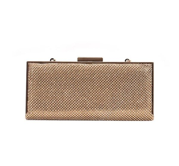 Europe and the United States popular hand-studded dinner bag cross-body chain bag 2019 new fashion chain shoulder bag#096