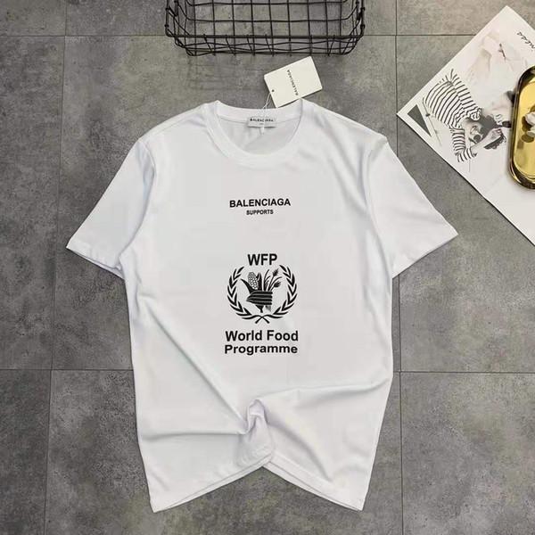 Дизайнерские Рубашки Мужская Одежда Марка Топы Футболка Роскошные Рубашки 2019 НОВЫЕ Летние Повседневные Рубашки Письма Печатных Повседневная Мужская Рубашка M-2XL