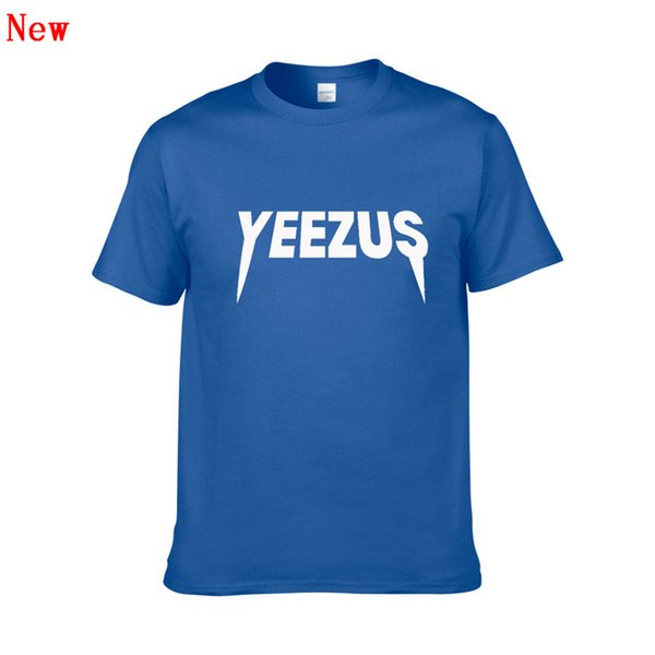 Short Sleeve T Shirt for Men and Women YEEZUS 3D Printing Tshirts Male Slim Fit Plus Size XS-XXL Hip Hop Cotton t-shirts ZG7