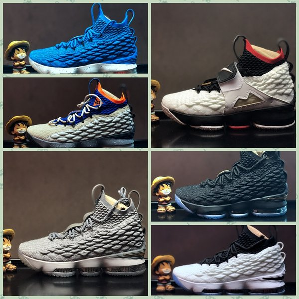 L015HA 2018 New Arrival LE 15 EQLITY Black White outdoor Shoes for Men 15s EP Sports Training Sneakers running shoes Size40-46