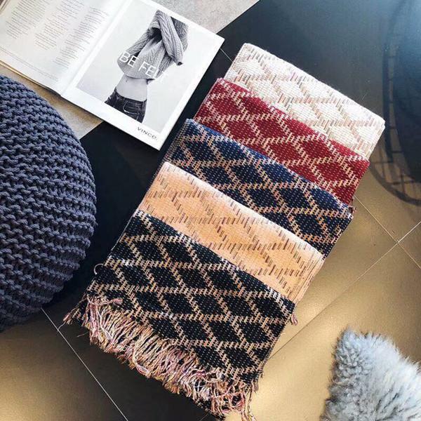 2020 más nueva venda de la manera pañuelos para las mujeres de la bufanda Mujer 70x180cm largo pañuelo Mantón gruesa cabeza bufandas para damas otoño invierno