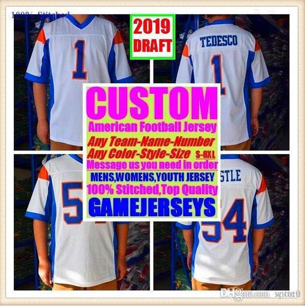 All Stitched Custom camisetas de fútbol americano Seattle Oakland college auténtico béisbol barato baloncesto hombre mujer joven EE. UU. 4xl hielo usa