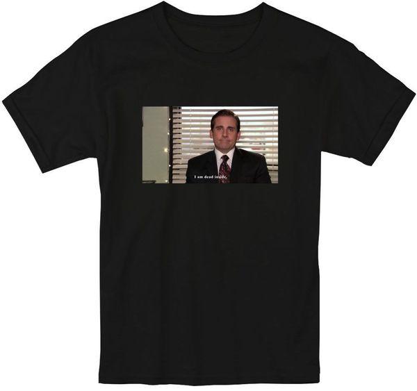 Michael Scott das Büro Ich bin tot in T ShirtFunny versandkostenfrei Unisex Casual Top