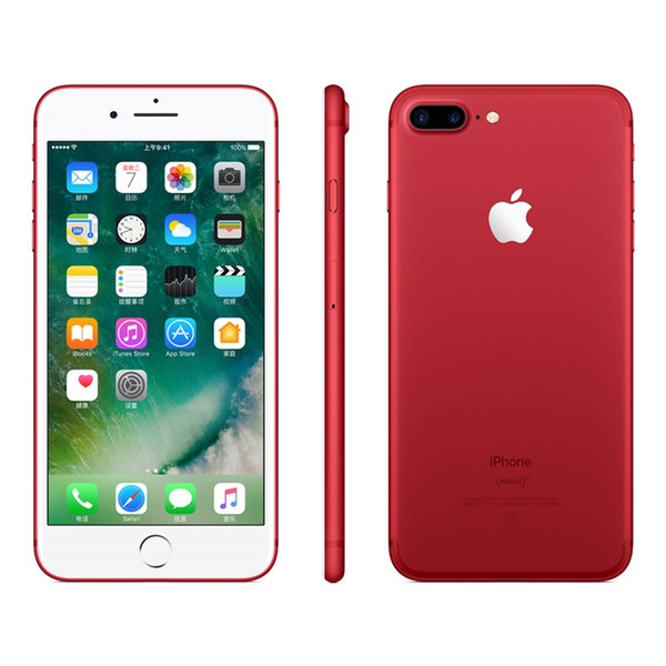 Refurbished original Apple iPhone 7 4.7inch i7plus 5.5inch with Touch id Cell Phones 32G 128G ROM IOS 10 Unlocked Smartphone