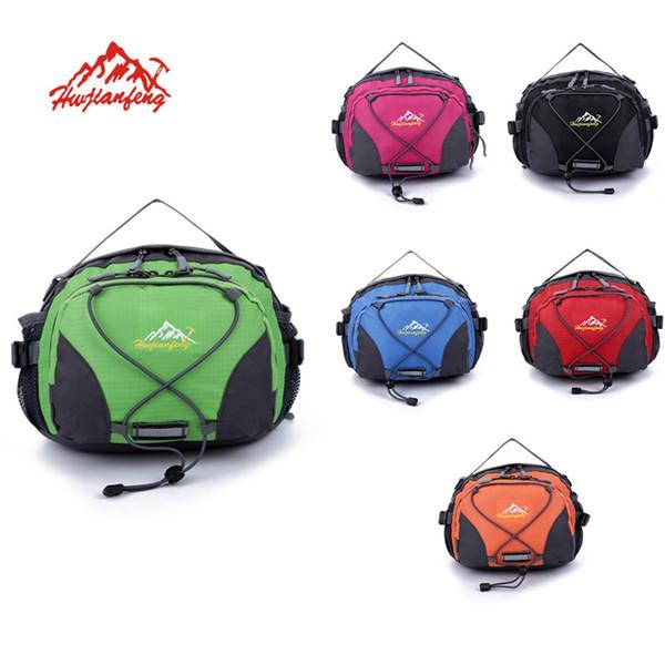 adc68fc9c Multifuncional Nylon Big Sport Phone Waist Bolsa de Cintura Al Aire Libre  Senderismo Ciclismo Bicicleta Gran