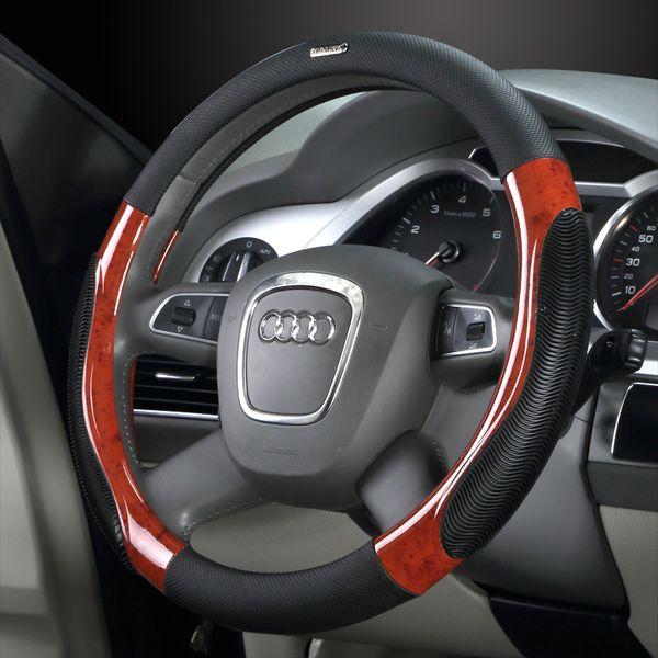 38cm Auto Lenkradabdeckung Seniorabdeckung königliches Lacrosse es350 S300 CX5 k5 GS5 / GA3 A4 A6 x5 Lenkradabdeckungen