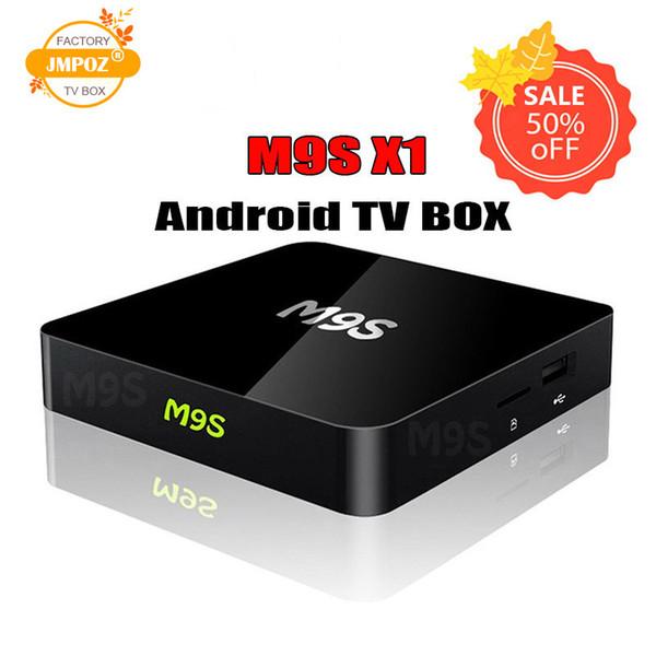 2019 Genuine M9S X1 Android TV box Amlogic S905X Quad Core Android 6.0 Marshmallow IPTV Box 1GB 8GB 2.4G WIFI HDMI OTT Box DHL Free