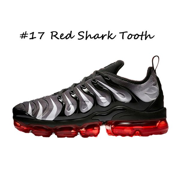 #17 Red Shark Tooth 40-45