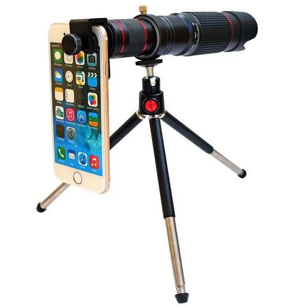 HD 36X Telephoto Lens for Mobile Phone Universal Lens Long Focus Telescope Camera Lens for iPhone iPad