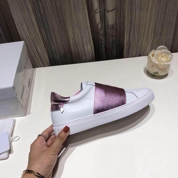 2019ss bayan Siyah Kentsel Sokak Deri Sneakers kızlar moda düşük üst sokak nedensel ayakkabı boyutu euro 35-40