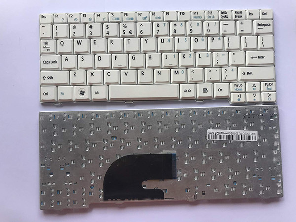 New laptop keyboard for Acer Aspire one A110 A150 D150 D250 ZA8 ZG8 ZG5 WHITE