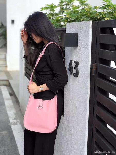 Omuz ÇantalarıCross BodyToteshandbags marka moda ÜST lüks tasarımcı çanta ünlü kadın Moda klasik Dana Tek omuz çekik 3E