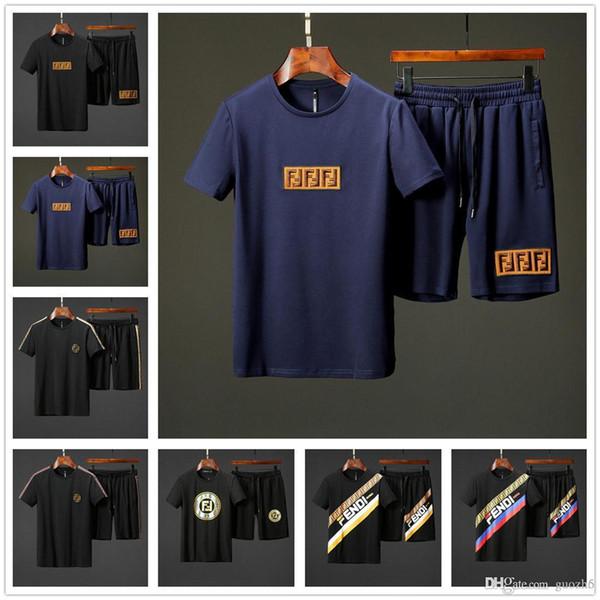 Herren Designer Trainingsanzüge Sportswear Herren Jogginganzüge Kurzarm T-Shirt und Shorts Frühling Sommer Casual Unisex Marke Sportswear S