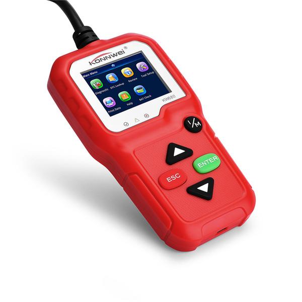 KW680 Car Diagnostic Tool Scanner OBD2 Function OBD 2 Autoscanner Multi-language Reader Automotive Scanner Code Reader Auto