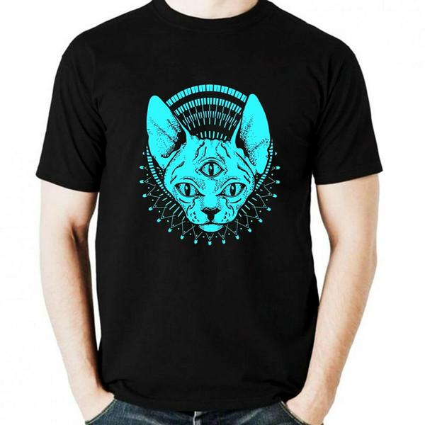Nueva Sphinx para hombre color negro camiseta tamaños S - 2XL hombres mujeres Unisex moda camiseta envío gratis