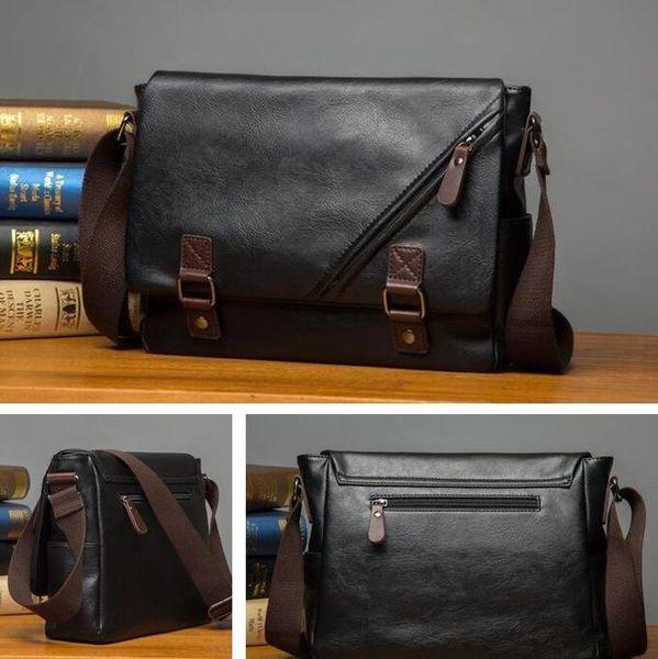 Factory sales of brand men's bag Korean version of the new color bangalor college men shoulder wind flip shoes Crossbody Bag Color Tren