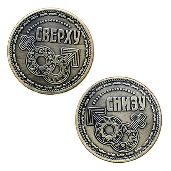 GLSY Newest Male And Female Symbol Commemorative Coin, Commemorative Coin Lucky Coin Collection Art Gifts Souvenir Free shipping