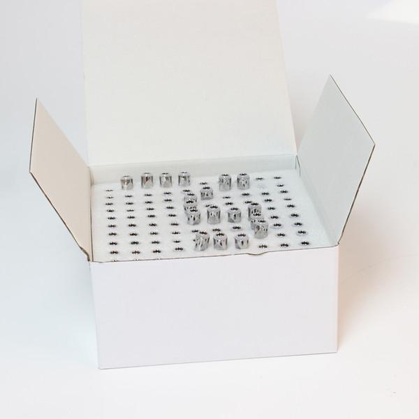 TH105 Conseils en métal Cartouches M6T verre Pyrex réservoir Vaporizer Pen Céramique 0,5ml bobine tête 510 fil Atomiseur