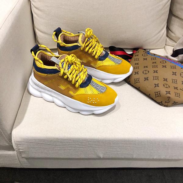 Kadın klasik deri arena marka düz ayakkabı sneakers moda lüks rahat dantel ayakkabı toz torbası boyutu 35-39 ke190405