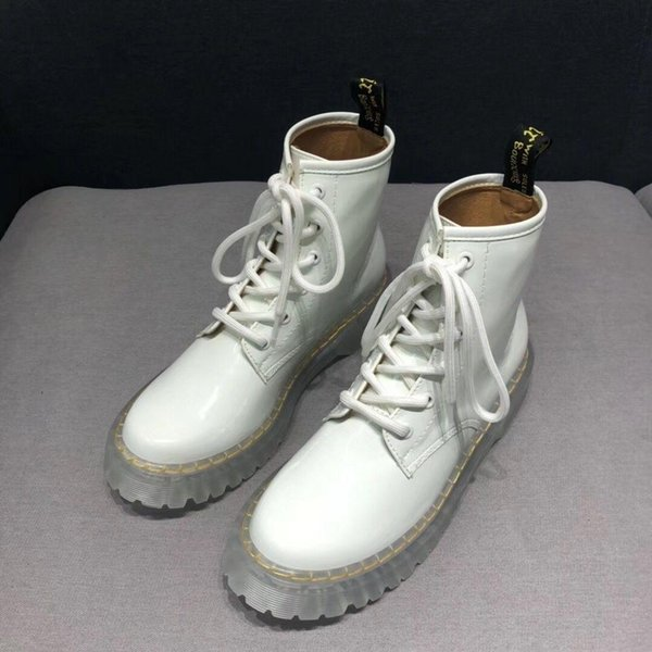 Nueva Moda Otoño estilo gótico punky atan para Cinturones dedo del pie redondo mujeres de las botas botas cortas