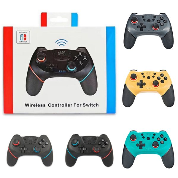 top popular Game Controllers Bluetooth Remote Wireless Controller for Switch Pro Gamepad Joypad Joystick For Nintendo Switch Pro Console 2020