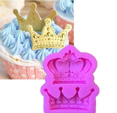 2 Kinds Of Crown Shape Silicone Mold,Cake Ice Chocolate Kitchen Baking Mould, Dining Bar Fondant Cake Tools ,Cake Decorating molds