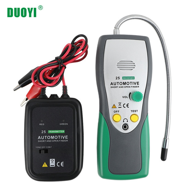 2019 DUOYI DY25 Automotive Short&Open Circuit Finder Tester Cable Wire on building circuits, electronics circuits, inverter circuits, power circuits, coil circuits, battery circuits, wire circuits, three circuits, thermostat circuits, control circuits, relay circuits, computer circuits, lighting circuits, audio circuits, motor circuits, electrical circuits,