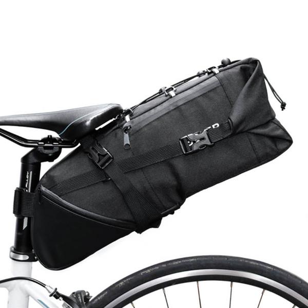 Roswhell pannier azul. bolsa para silla de bicicleta bolsa para almacenamiento de silla trasera de bicicleta de ciclismo de carretera