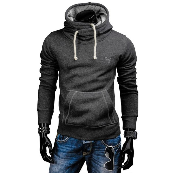 Zogaa Men Clothing Bodybuilding Hoodies Slim Fit Sweatshirts Casual Gyms Hoody Pullovers Male Casual Drawstring Tops Outerwear