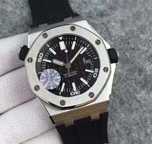 Reloj de lujo para hombres Marca de calidad superior automática 3120 Offshore 15710 42 MM Royal Oaks acero inoxidable Fecha para hombre antiguo reloj