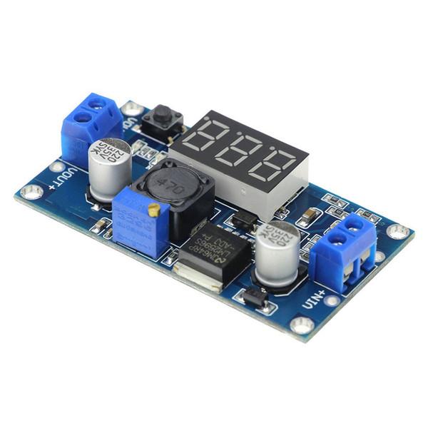 Модуль регулируемого источника питания Lm2596S Dc-Dc Регулятор напряжения с цифровой индикацией вольтметра Lm2596