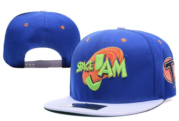 best selling Movie Space Jam Baseball Cap Fashion Curved Chapeau Dad Hats Casquette Brand Snapback Bunny