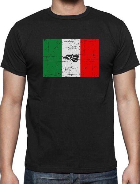 Bandeira de México - t-shirt retro da bandeira mexicana do vintage Calças de brim das camisas do tipo do orgulho de México
