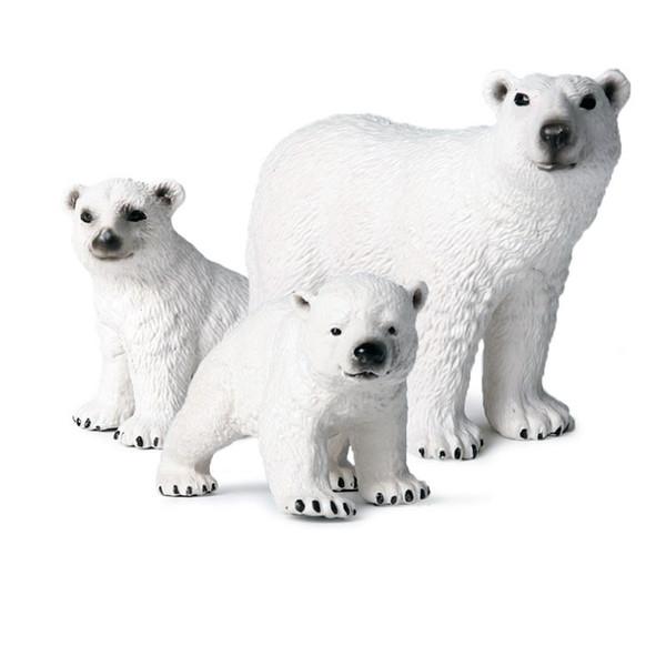 Simulation Little Bear Action Figures PVC Lifelike Education Kids Children Wild Animal Model Toy Gift Cute Toys