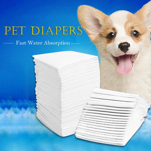 Multi-size Pet Diapers Super Absorbent Pet Dog Training Urine Pad Diapers for Dogs Cleaning Antibacterial Dog Nappy