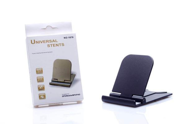 Soporte para teléfono móvil Escritorio perezoso pintura de escritorio plegable de plástico universal teléfono móvil soporte de tableta