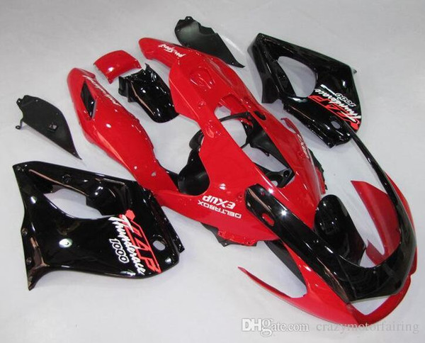 3 Gifts New ABS Fairing kit 100% Fit For YAMAHA Thunderace YZF1000R 1996 1997 1998 1999 2000 2001 2002 2003 2004 2005 2006 2007 black red