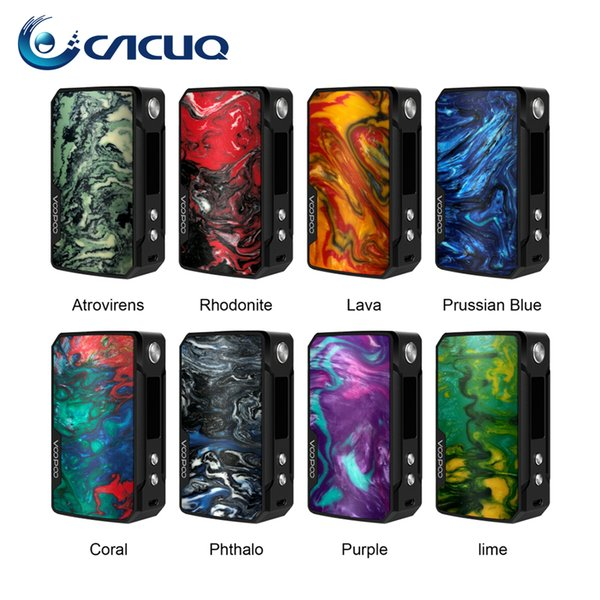 100% original Voopoo Drag mini mod fit for Uforce T2 Tank Powered by dual 18650 batteries OLED display pocket power beat