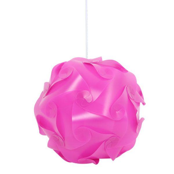 DIY Modern Pendant Ball novel iq lamp puzzle pendants white color pendant lights size 25cm/30cm/40cm Infinity lamp 9 colors available
