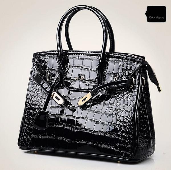 Women's shoulder bag 2019 new crocodile Messenger bag Europe and America fashion handbag large capacity ladies bag wholesale