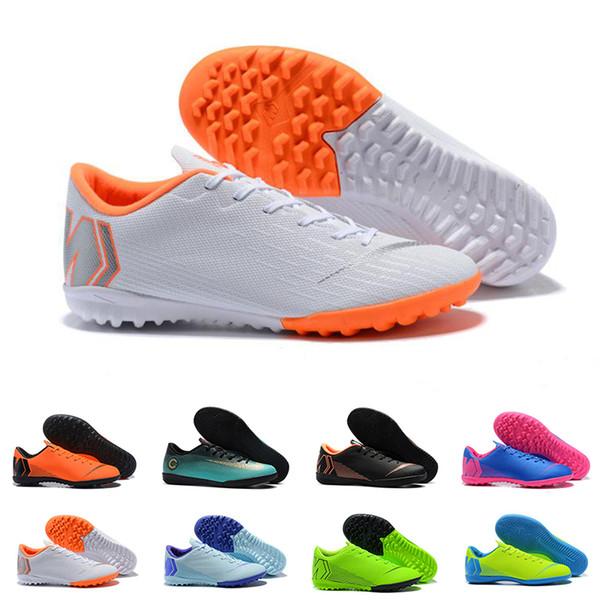 2019 Best Quality Mens Soccer Shoes Mercurial Superfly Cr7 KJ VI Elite FG IG Football Boots Scarpe Calcio Cleats Designer Men Sneakers 39-45