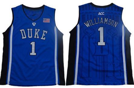 1 Cuello Redondo Azul Zion Williamson