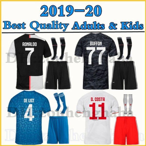 2019 2020 Kid Kit Juve De Ligt Ronaldo Occer Jer Ey Et 19 20 Home