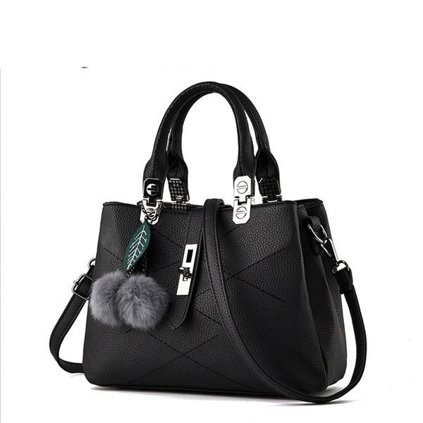 good quality Brand Women Bag High Quality Pu Leather Tote Brand Name Bag Ladies Handbag Lady Evening Bags Solid Female Messenger Bag