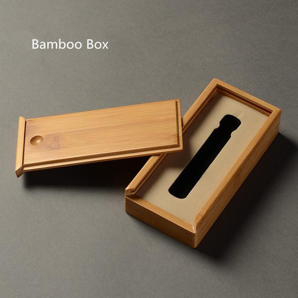Einfach Bambus Aufbewahrungsbox Rechteck Retro Home Decoration Frauen Geschenk Fällen Mit Tasche Größe Natürliche Herren Boxen 16 * 7,5 CM